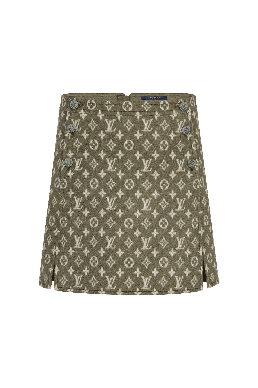 eb0bd452aa Mini Skirt With Button Detail in 2019   Louis Vuitton   Louis ...