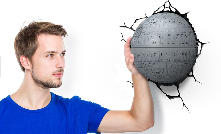 Star Wars Death Star 3d Deco Light Spaced Out Ooooh Pretty