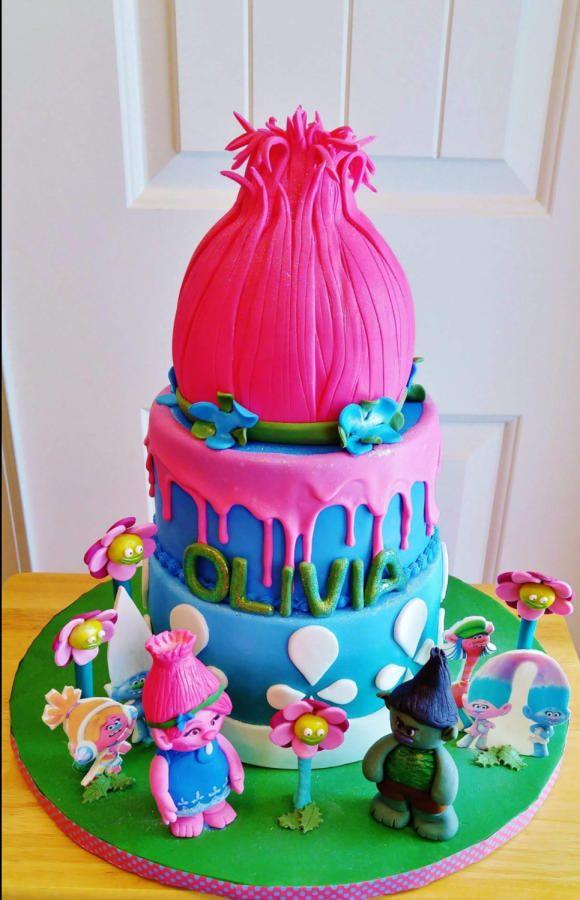 Cake Design Trolls : Poppy Troll by Enza - Sweet-E Cakes & Cake Decorating ...