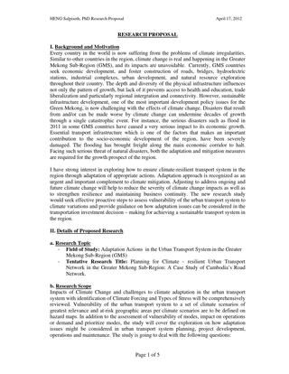 Writing A Phd Research Proposal  Research