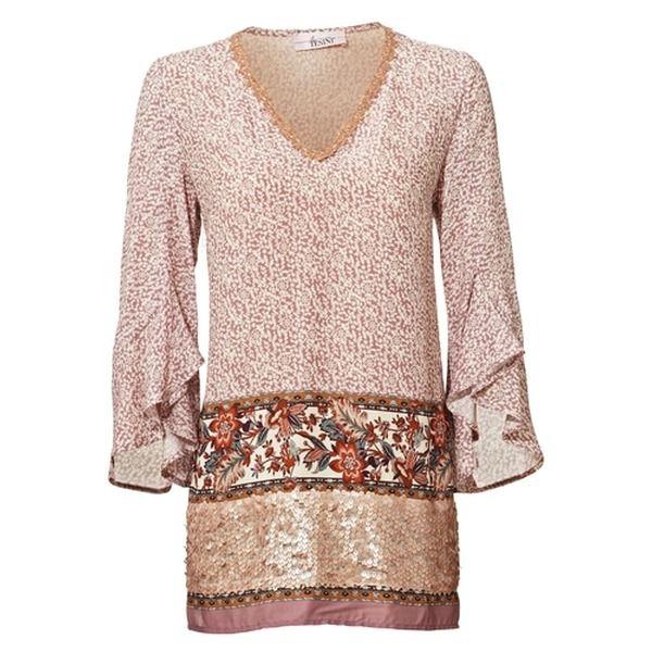 best service 1f993 1fdfb LINEA TESINI Druckbluse pink #fashion #inspiration #trend ...