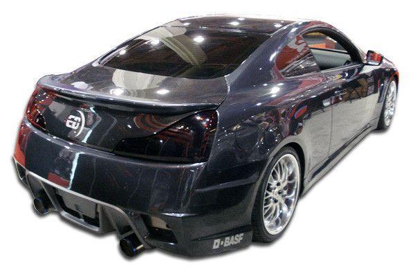 2008-2015 Infiniti G Coupe G37 Q60 Duraflex GT Concept Rear Bumper Cover - 1 Piece