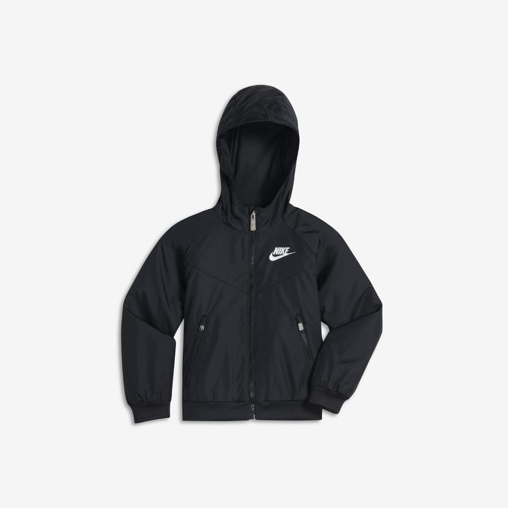 Nike Windrunner Toddler Boys  Jacket Size 4T (Black)  010861056
