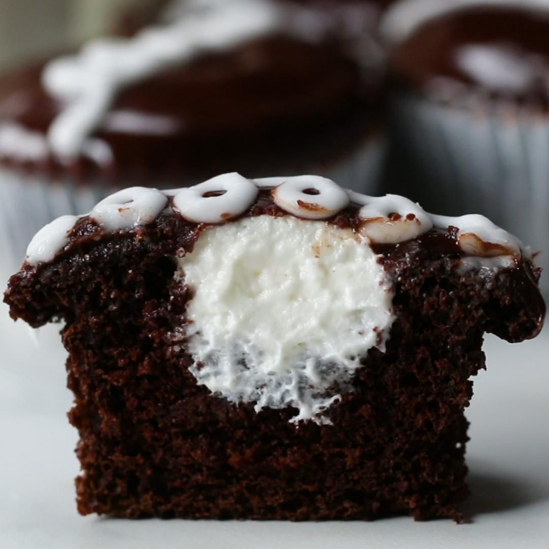 Chocolate Snack Cupcakes Recipe by Tasty
