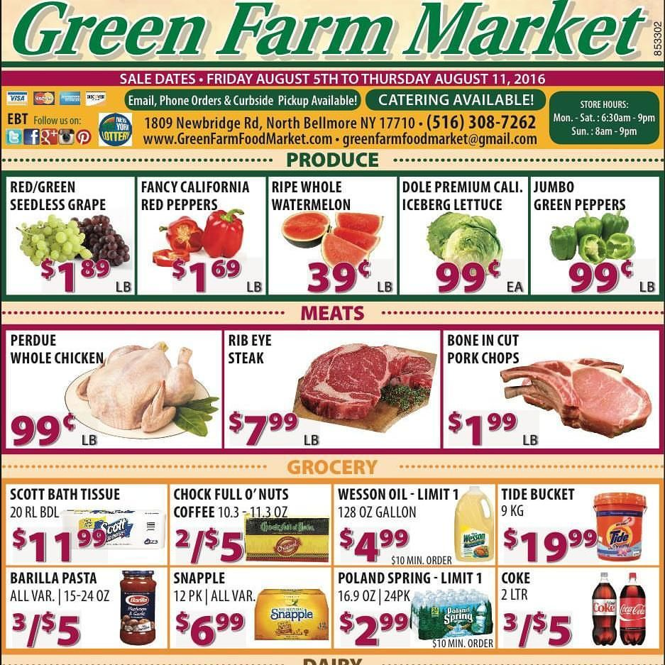 Green Farm Market is dedicated to providing customers with