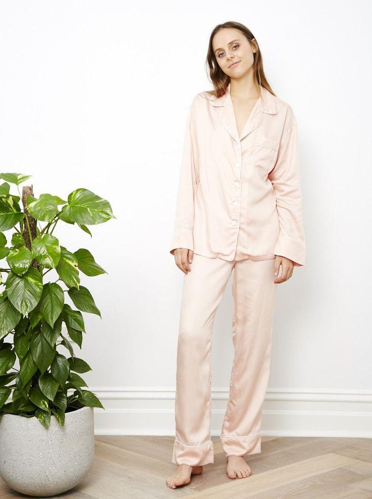 a2cb16e5cf7e Cute Pyjamas  Pajamas    Cloud Pink Long Sleeve Pj Shirt by ettitude.com.au     Street Style Pjs + Bedtime Pjs