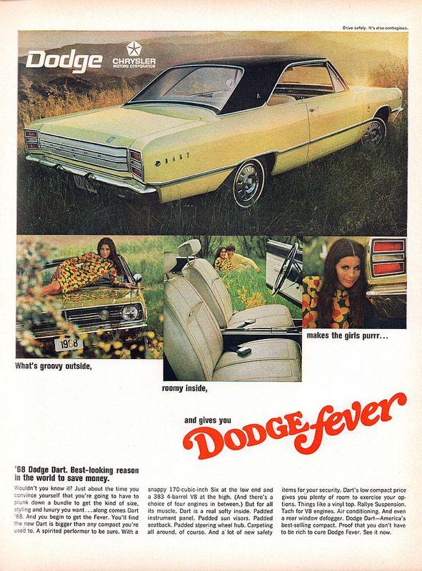 1968 Dodge Dart Advertisement Life Magazine October 13 1967 Dodge Dart Dodge 1968 Dodge Dart