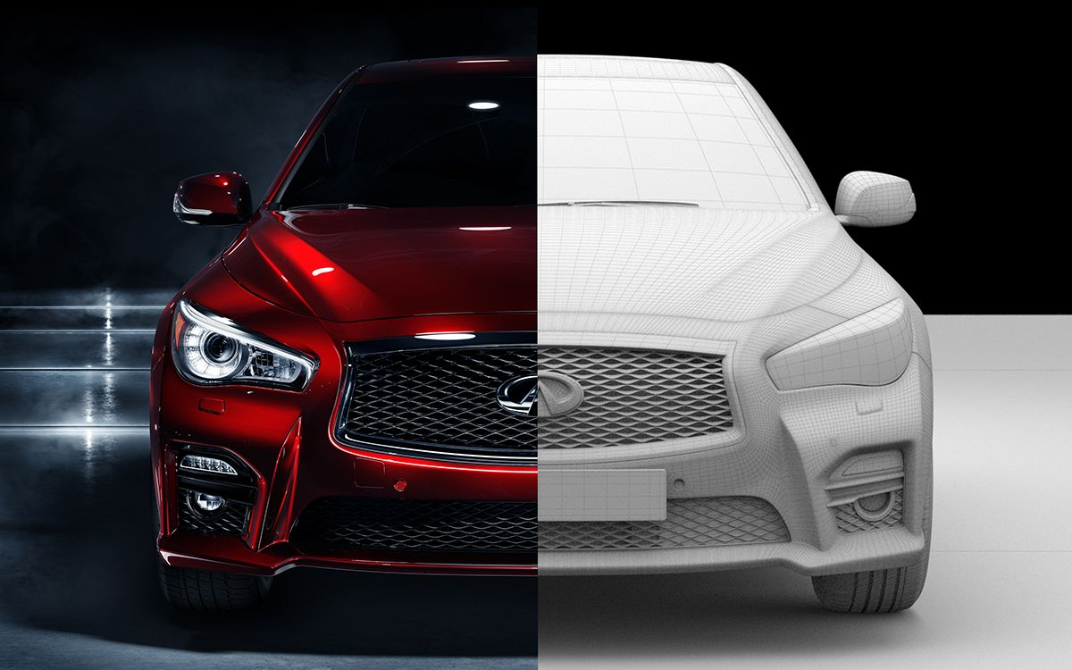 Infiniti Q50 CGI on Behance in 2020 Infiniti q50
