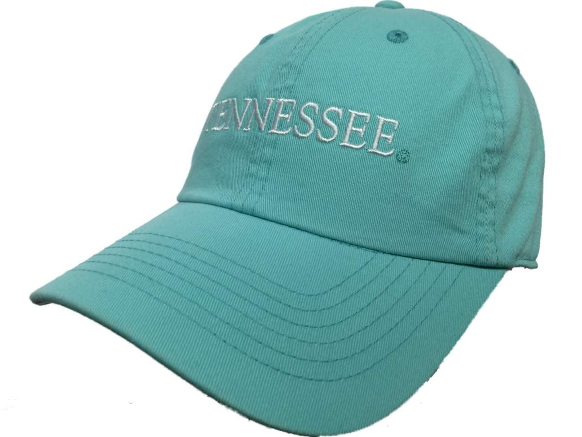 be6f2b4a6ec69a Tennessee Volunteers TOW WOMEN Mint Green Seaside Adjustable Slouch Hat Cap