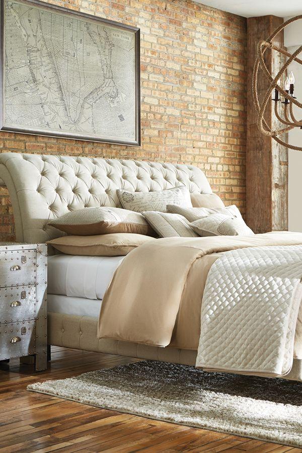 Bombay Linen King Bed