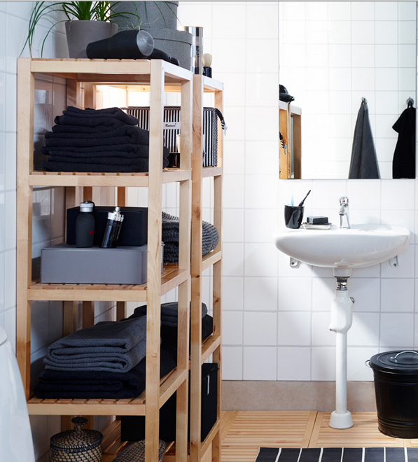 Open Shelving Puts Things Within Easy Reach To Avoid A Messy Look