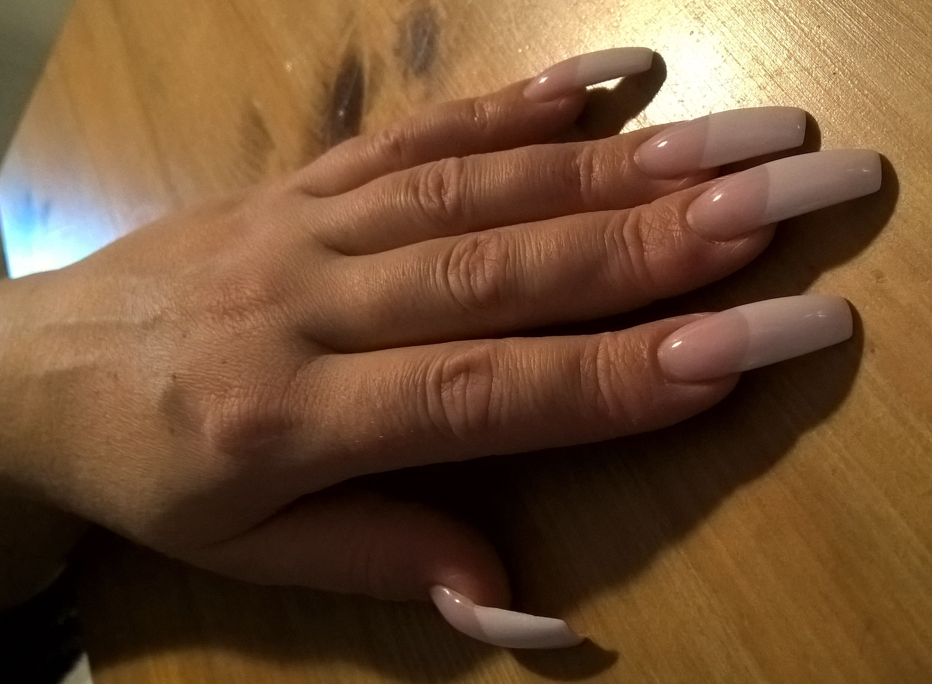 Fantastic French Long Nails French Manicure Acrylic Nails Long French Tip Nails Pretty Acrylic Nails