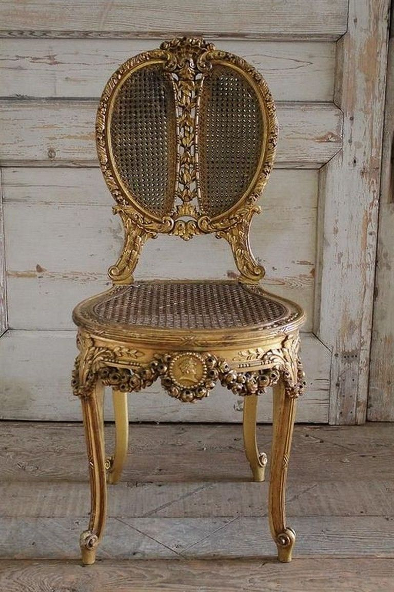 35 Unique Cane Chairs Design Ideas With French Style French