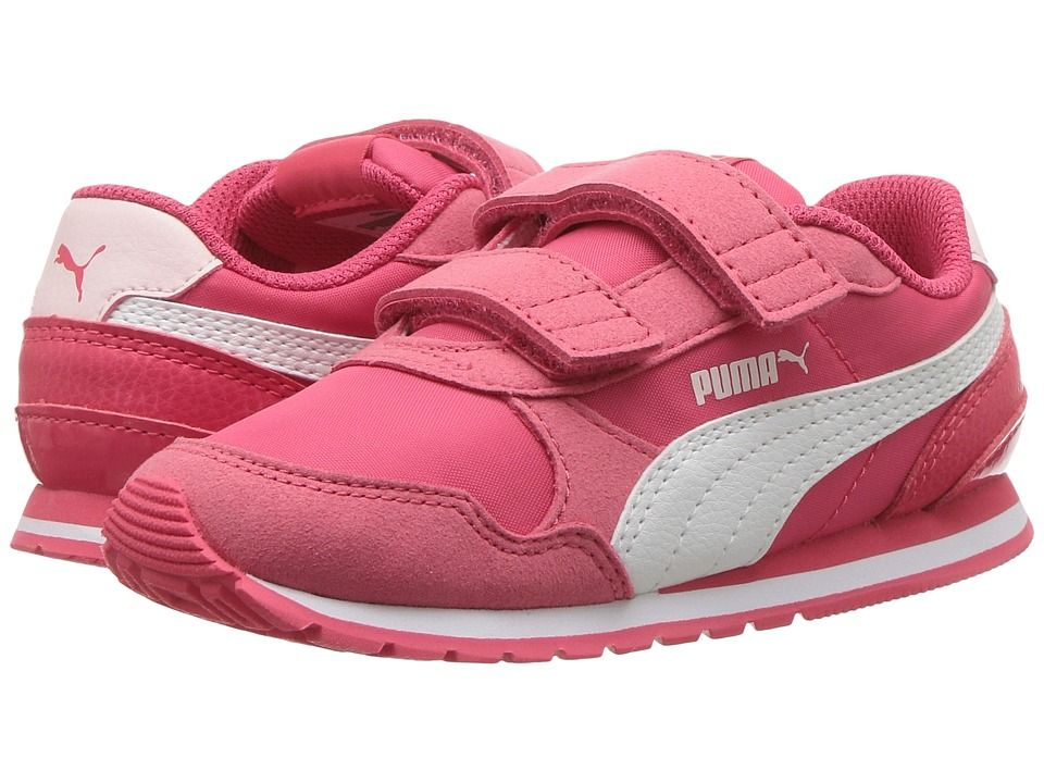 Puma Kids ST Runner v2 NL V (Toddler) Girls Shoes Paradise Pink Puma ... fa154737c