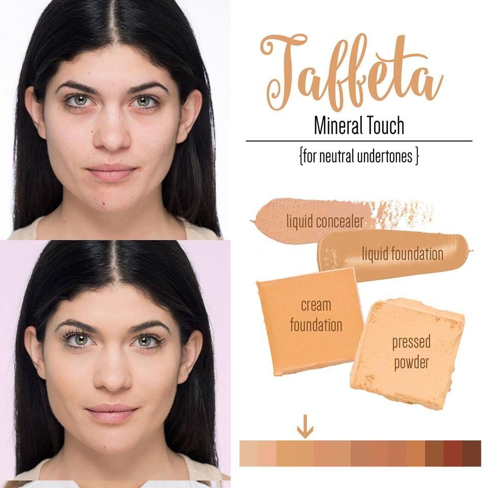 Younique Taffeta Liquid Powder Cream Foundation Neutral Undertone
