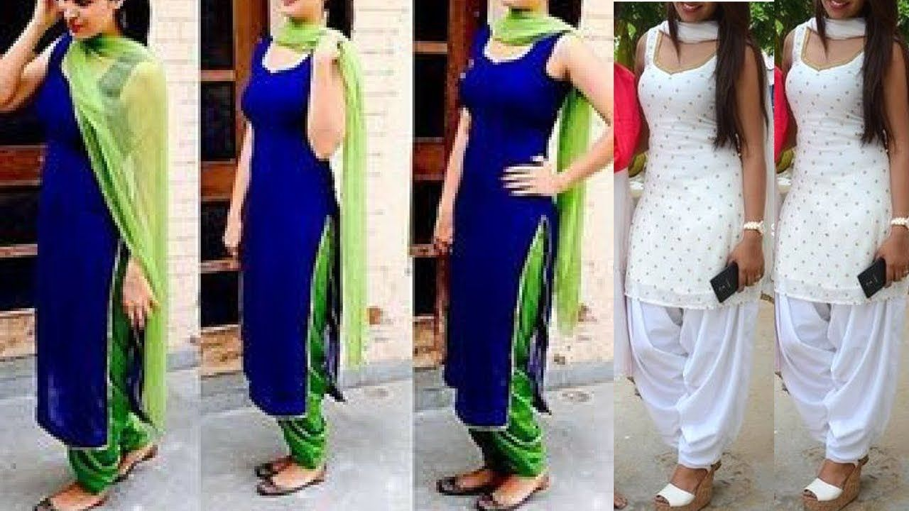 Sleeveless Punjabi Suit Designs 2018 Boutique Style Sleeveless Punjab Fashion Trends By