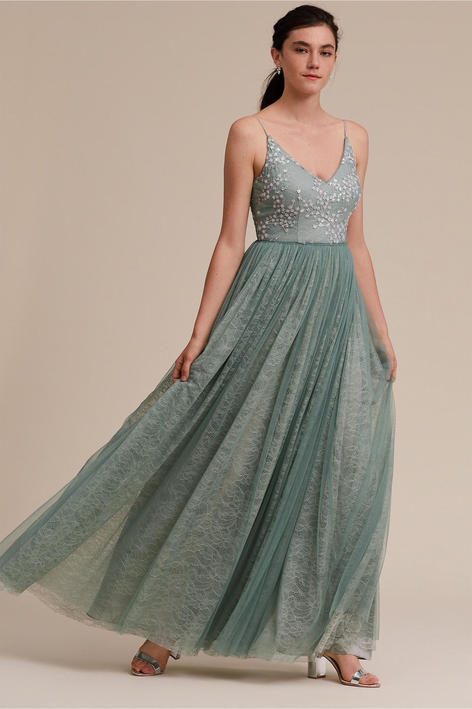 2cf5c80064ac Cluny Dress | Products | Green bridesmaid dresses, Bridesmaid ...