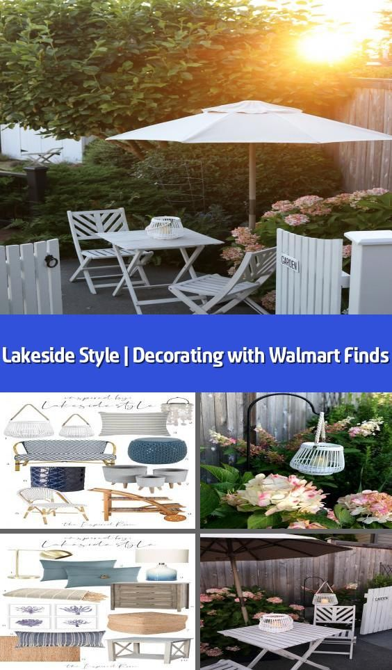 Lakeside Style Decorating with Walmart Finds This post