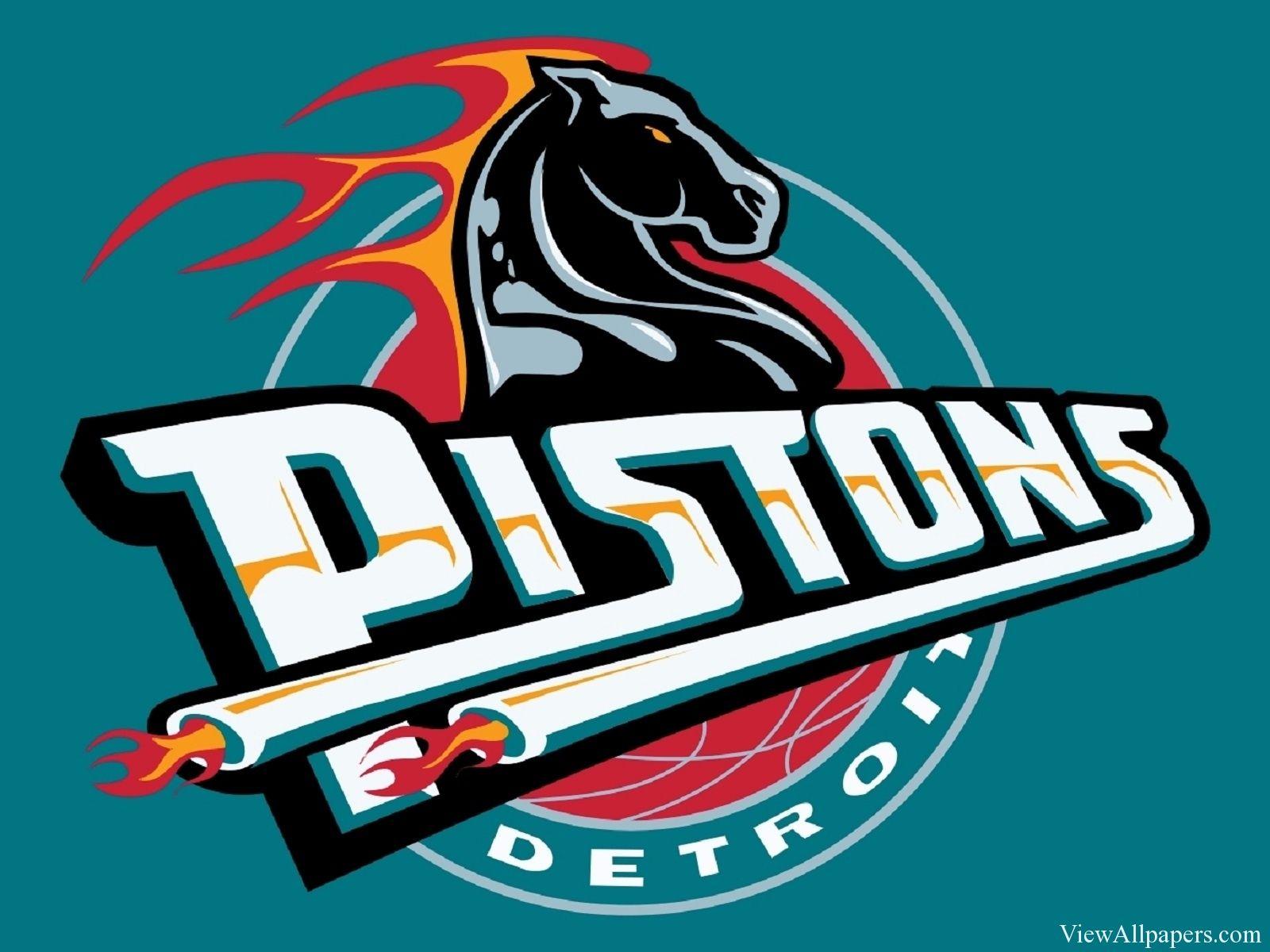 Detroit Pistons Logo Pistons logo, Detroit pistons, Pistons