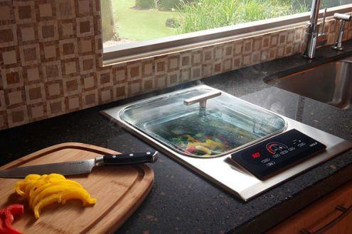 Built In Steamer Outdoor Kitchen Wolf Stove Outdoor Kitchen Appliances