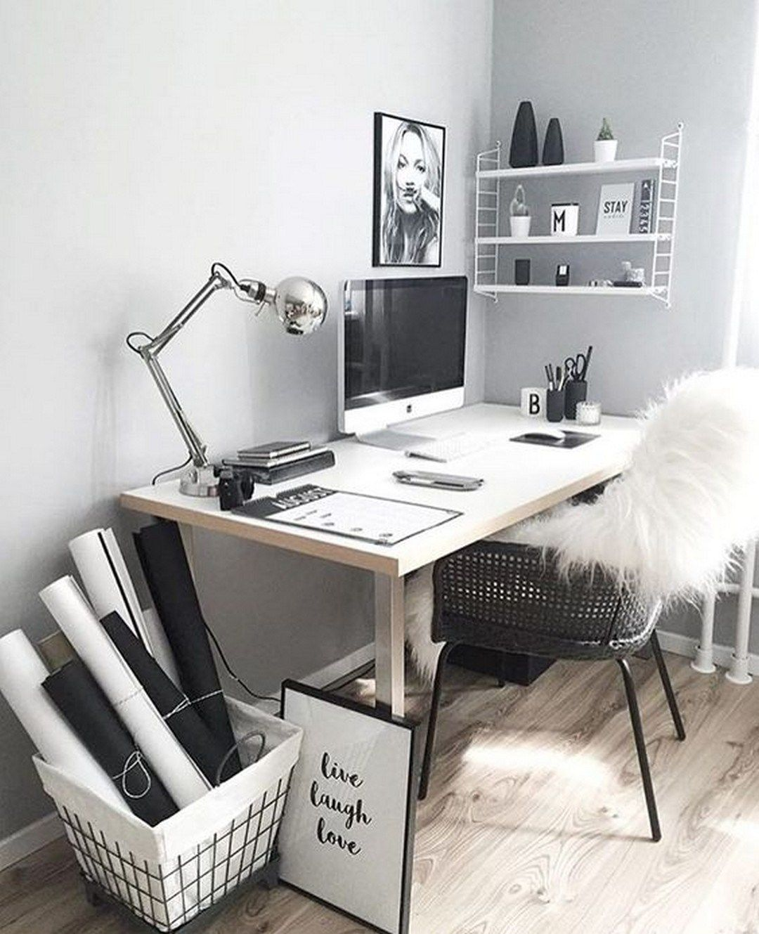 Several Chic And Cute Desk Decoration Ideas You Should Copy Room Decor