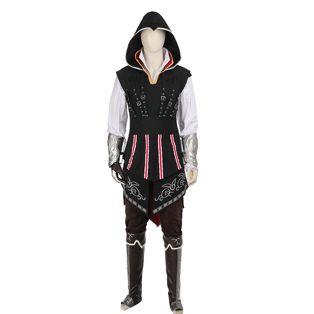 Assassin's Creed 2 Ezio Auditore Cosplay Costume Cosplay