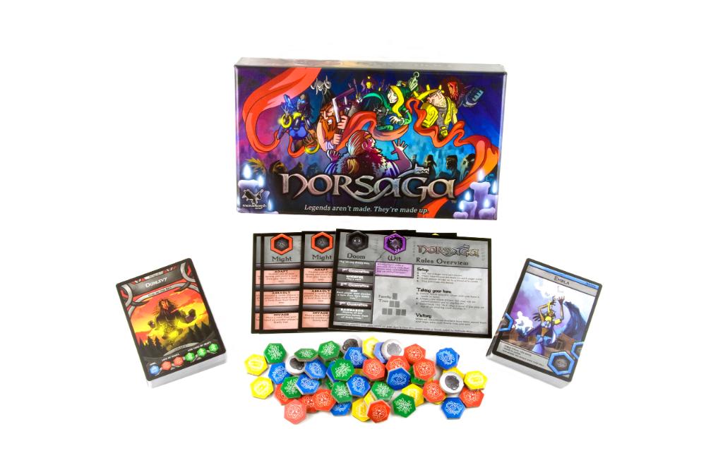 Norsaga (Base game Battle card games, Games, Board games