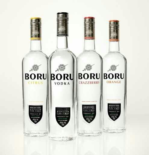 The only vodka I've sampled from the country of Ireland, Boru is named  after a legendary Irish king… who probably wouldn't have been caught dead  drinking ...