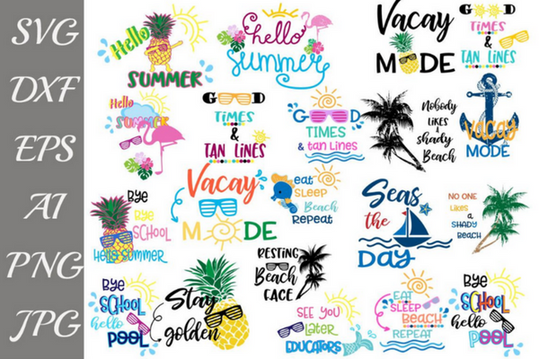 Summer Design Bundle Svg Summer design, Design bundles