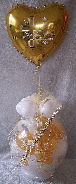 Geschenk Im Ballon Ballondekoration Geldgeschenk Luftballon