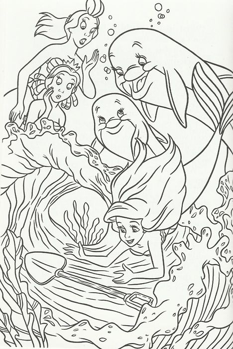 The girls and the Dolphins of Coral Cove find a shovel1 | Disney ...