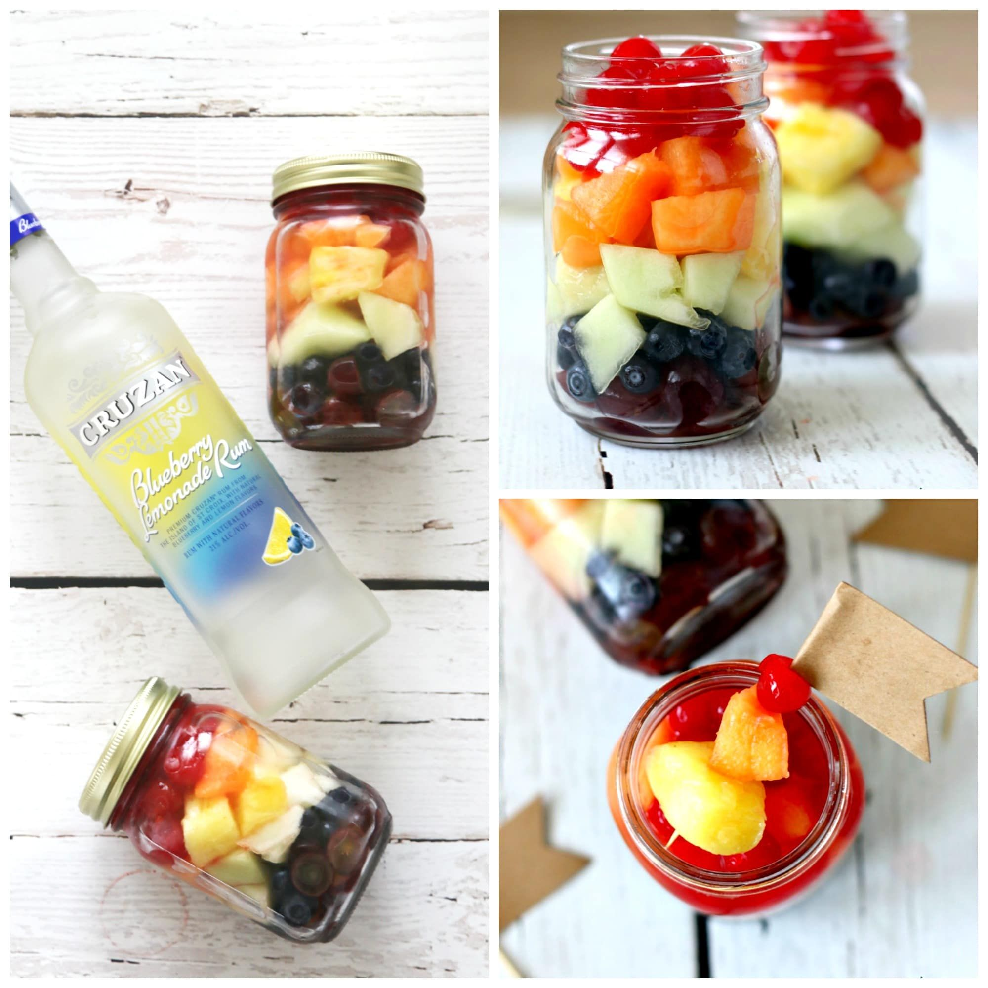 Mason Jar Drinks, Alcohol
