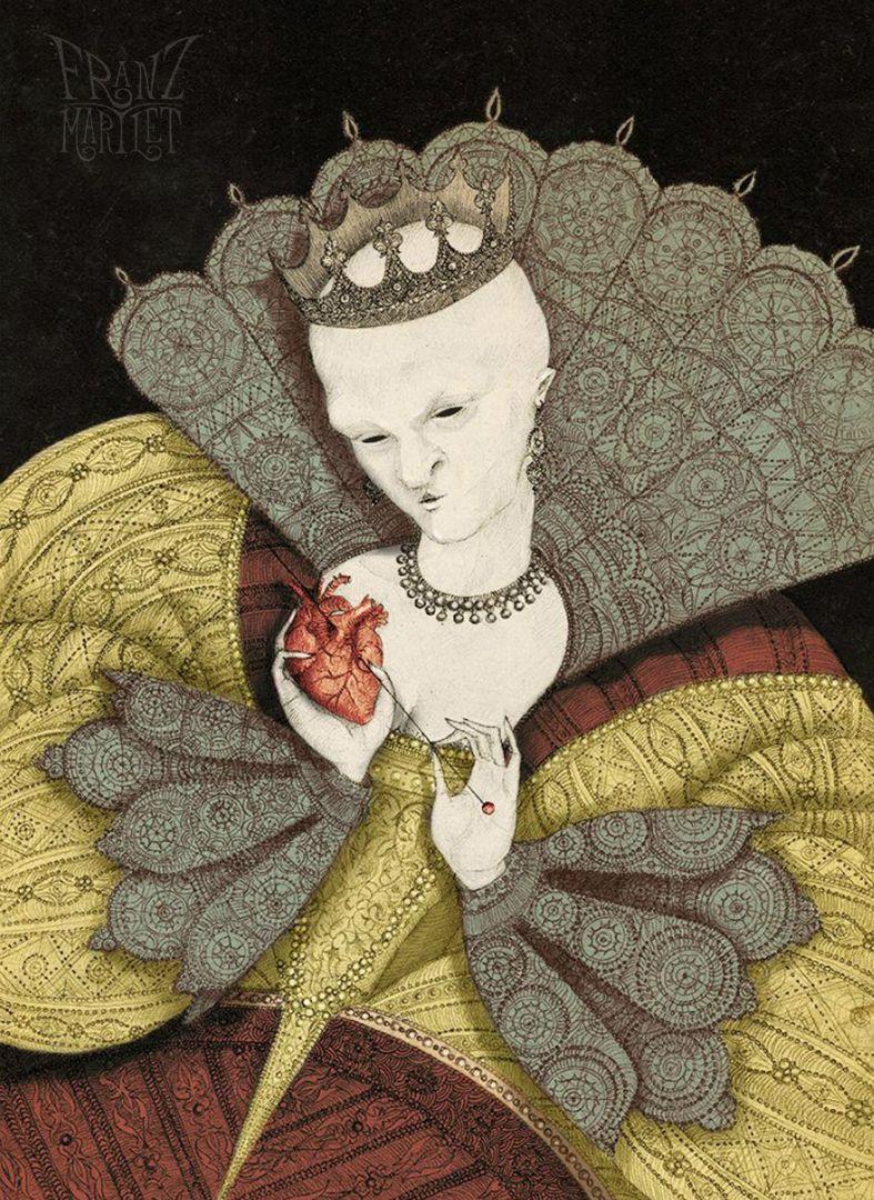 #melanie #queenofhearts #gaydos #melaniegaydos #heart #horror #love #queen #queenprincess #franz_martlet
