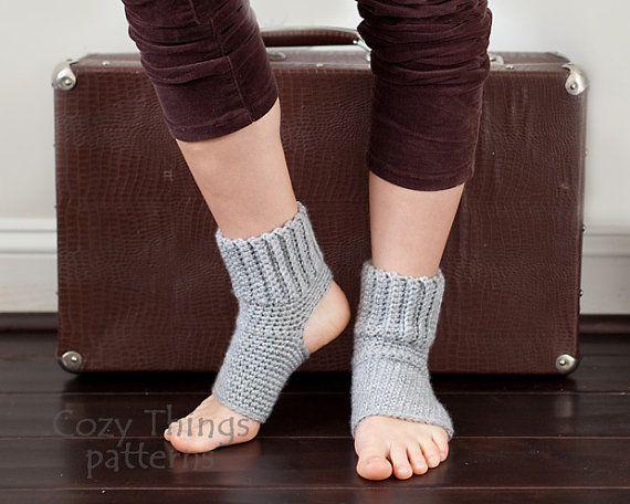 Download crochet pattern #004 - Women Yoga socks, ballet, jazz ...