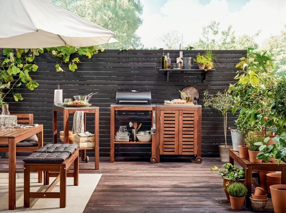 outdoorküchen: kochen im freien | das leben genießen, leben, Kuchen deko