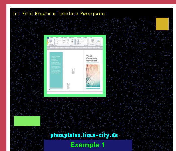 tri fold brochure template powerpoint powerpoint templates 134711