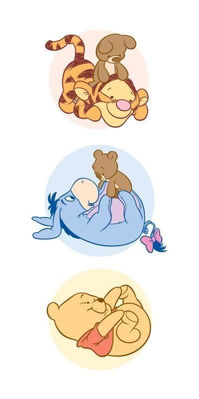 Baby Disney und Tigger Bild