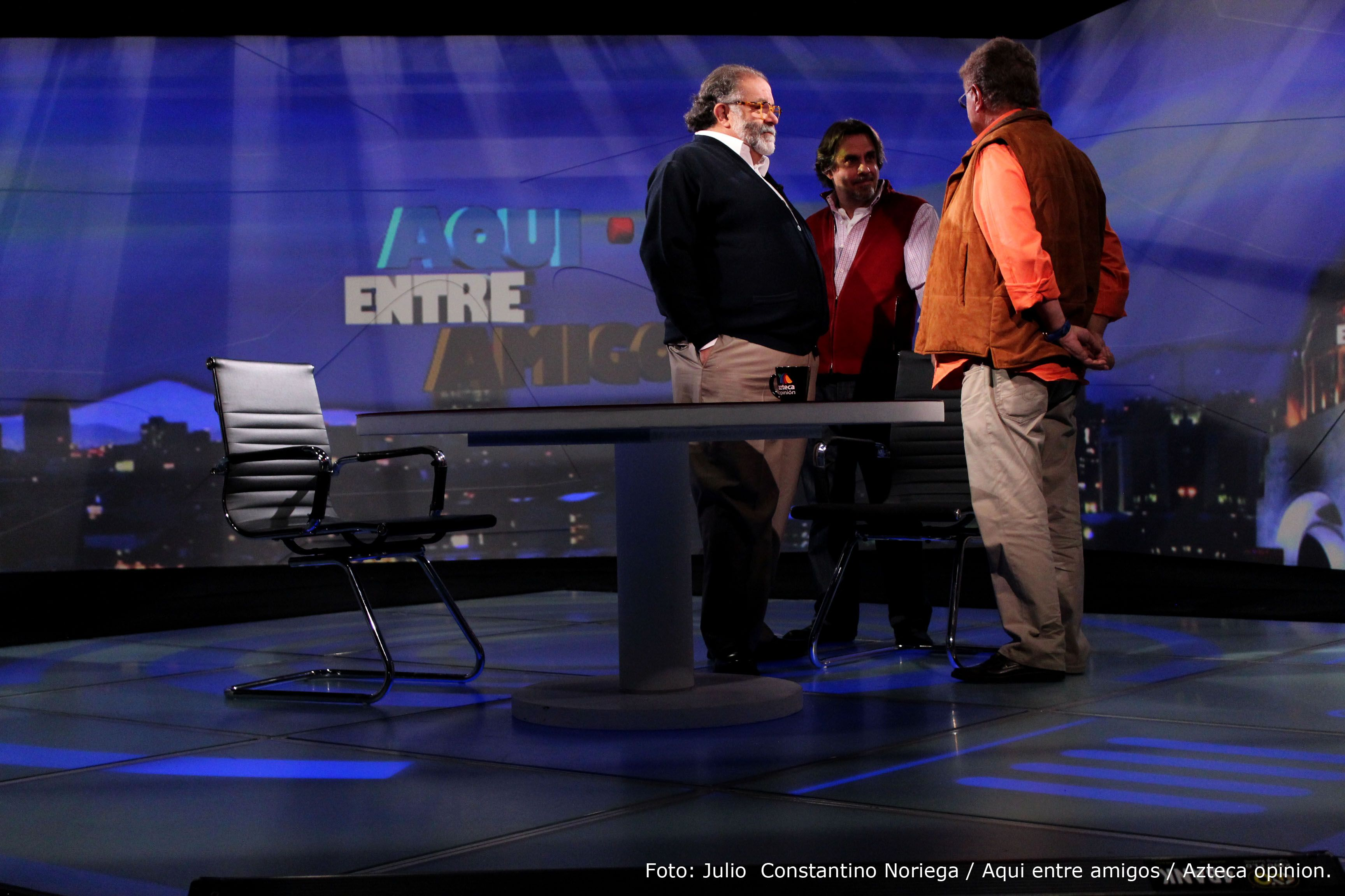 En #AquíEntreAmigos con Carlos Alazraki y José Newman