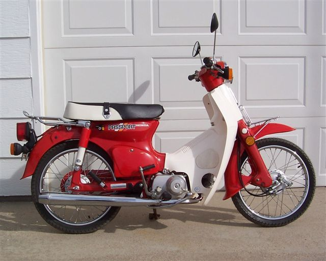 Honda Passport Motorcycle Google Search Motorcycles Vintage