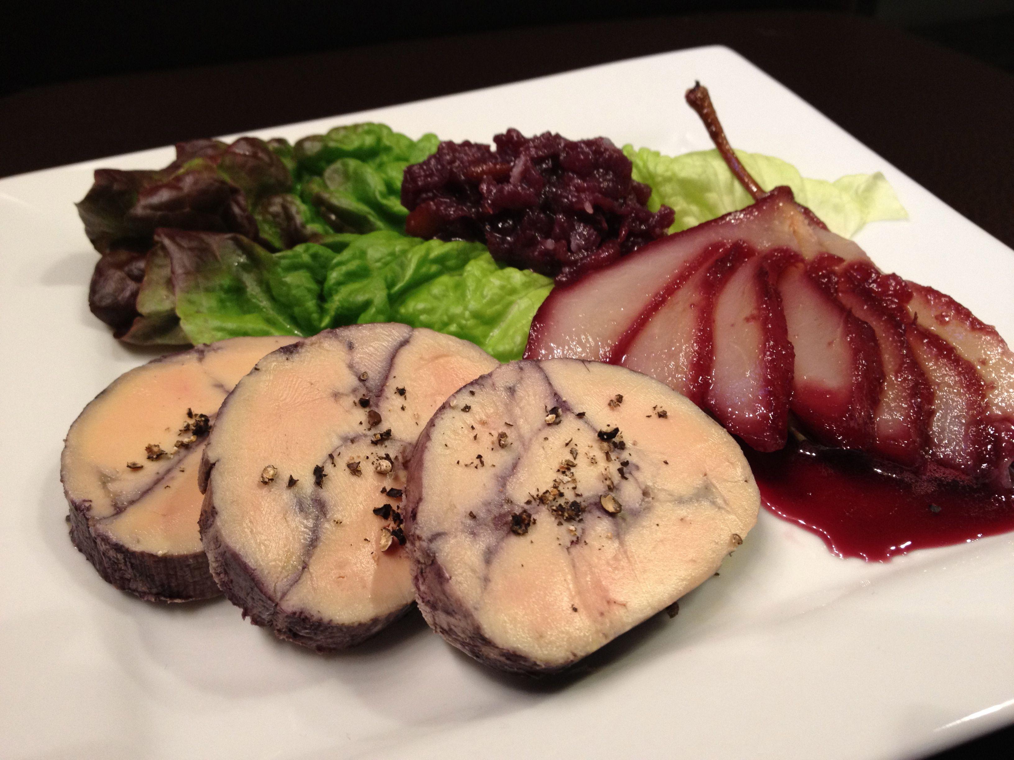 foie gras recipes red wine poached foie gras torchon. Black Bedroom Furniture Sets. Home Design Ideas