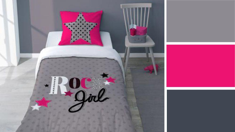 Quelles couleurs pour une chambre d\'ado fille ? | Filles chambre ...