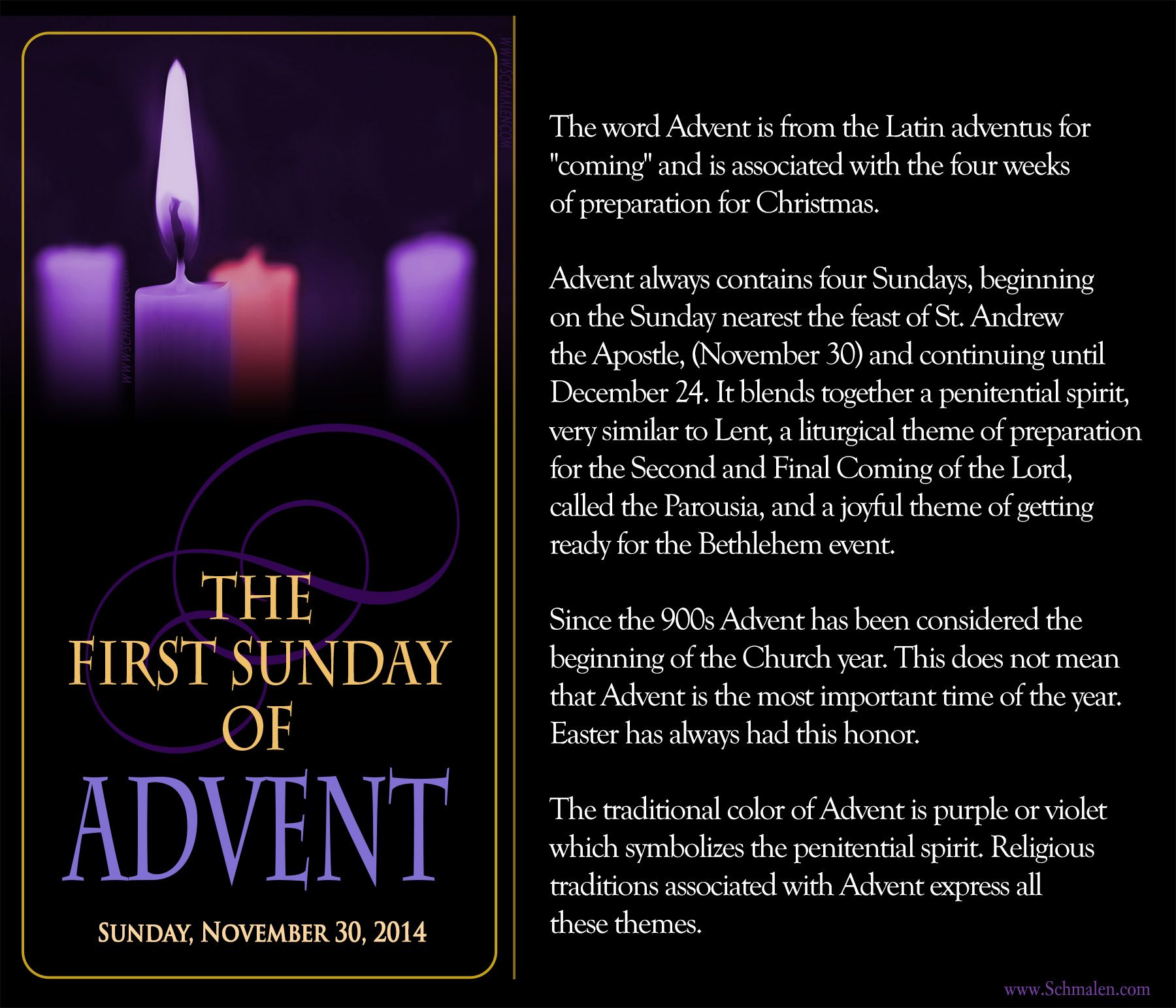 The First Sunday Of Advent Www Schmalen Com First Sunday Of Advent Advent Prayers Christmas Prayer