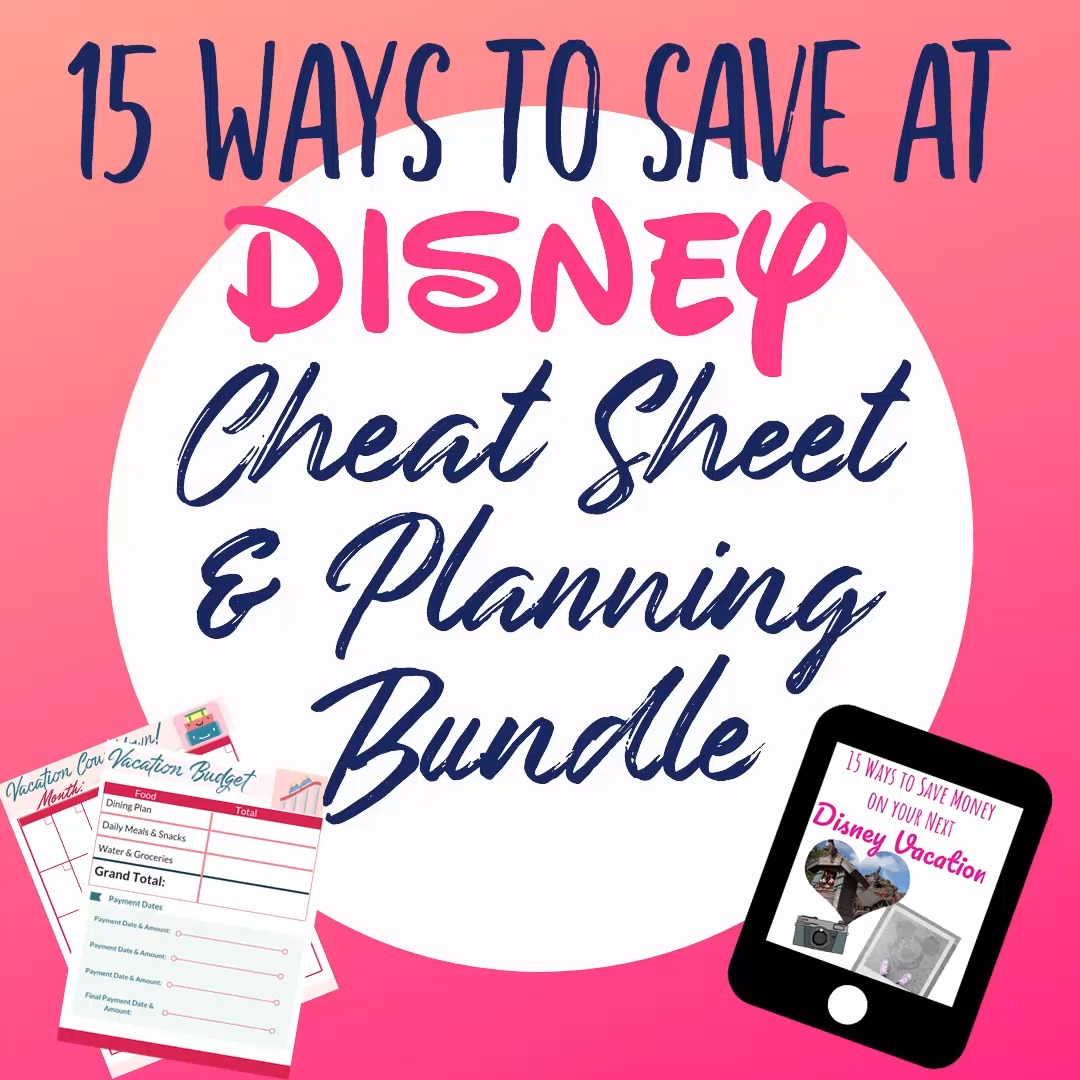 Theme Park Budget And Planning Worksheet