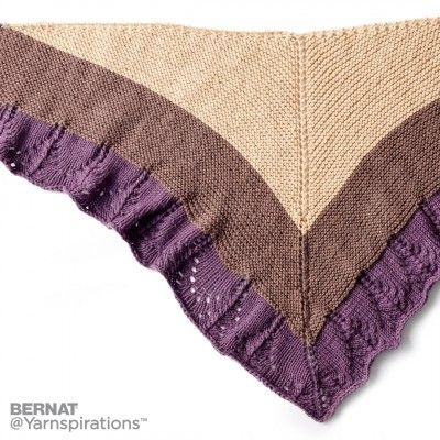 Knit Comfort Shawl | Knit | Charity | Let\'s Make a Difference | Free ...