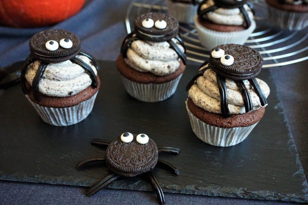 SpinnenOreoCupcakes Schokoladenkuchen ohne mehl, Oreo