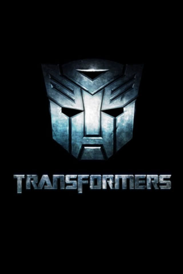 cool transformers wallpapers hd transformers logo iphone wallpaper