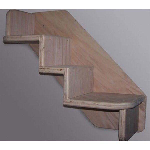 Good Faux+wood+stairs | ... Furniture By SIZE » Compact   12. Cat Wall ShelvesUnique  ...