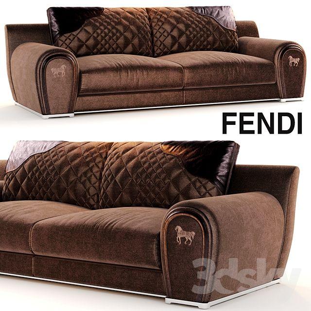 Beau Sofa VARENNE Fendi Sofa Furniture, Sofa Chair, Settee, Luxury Furniture,  Furniture Design