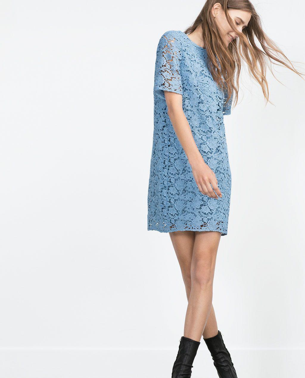 LACE DRESS-View all-Dresses-WOMAN-SALE | ZARA United States