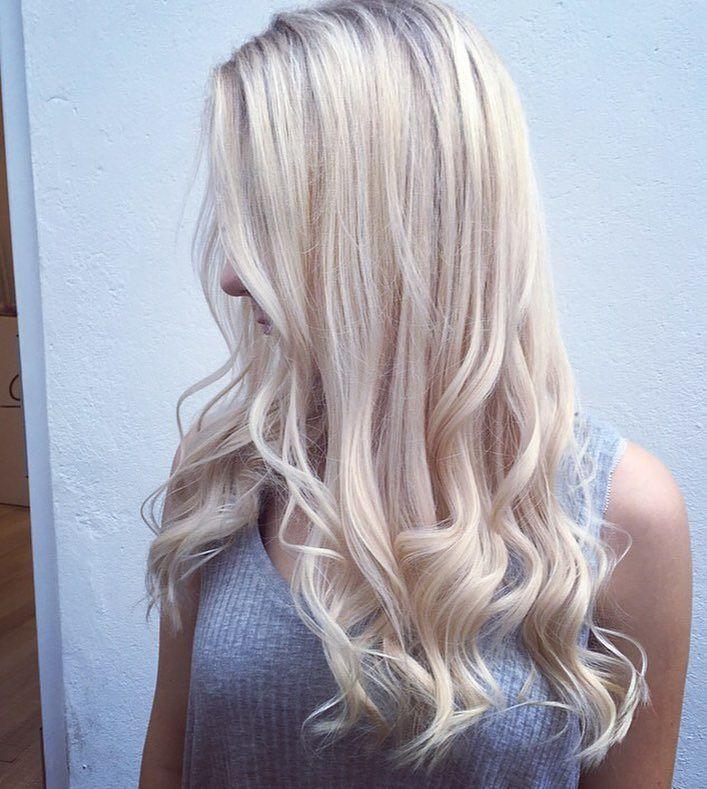 Curly Ice Blonde Hair | Hair | Pinterest | Ice blonde hair, Ice ...